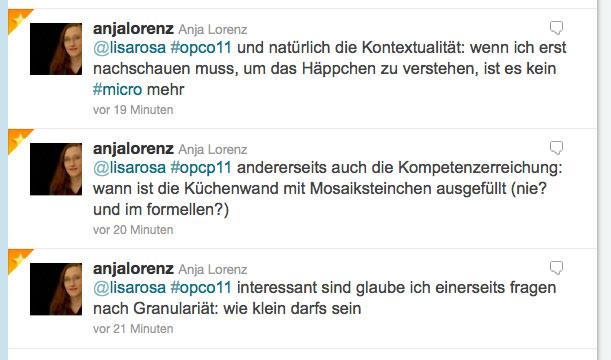 Impuls von Anja Lorenz zum Thema Microlearning via Twitter