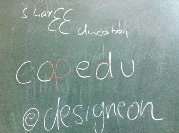 Session von Sabine Hueber, @designeon auf dem EduCamp 2011