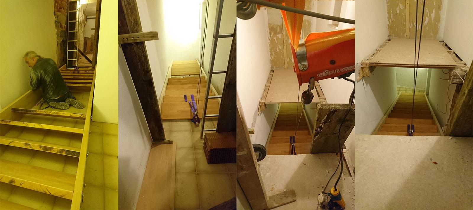 Eine neue Treppe für die Wiesenmühle - Teil 3 - Treppenkonstruktion ...
